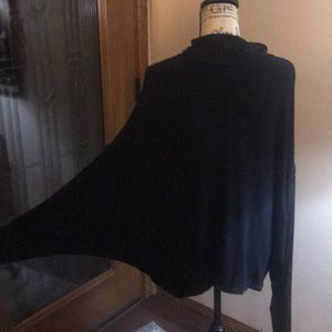 Free People Sweaters - Free people black knit turtleneck